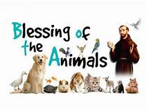 Feast of Saint Francis Animal Blessing